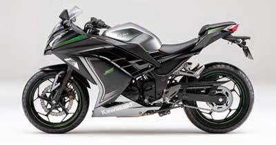 gambar motor Ninja 250 SE hitam