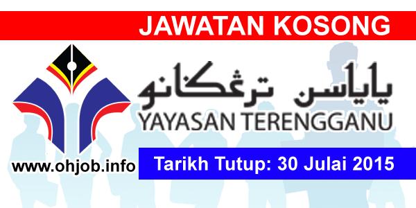 Jawatan Kerja Kosong Yayasan Terengganu (YT) logo www.ohjob.info julai 2015