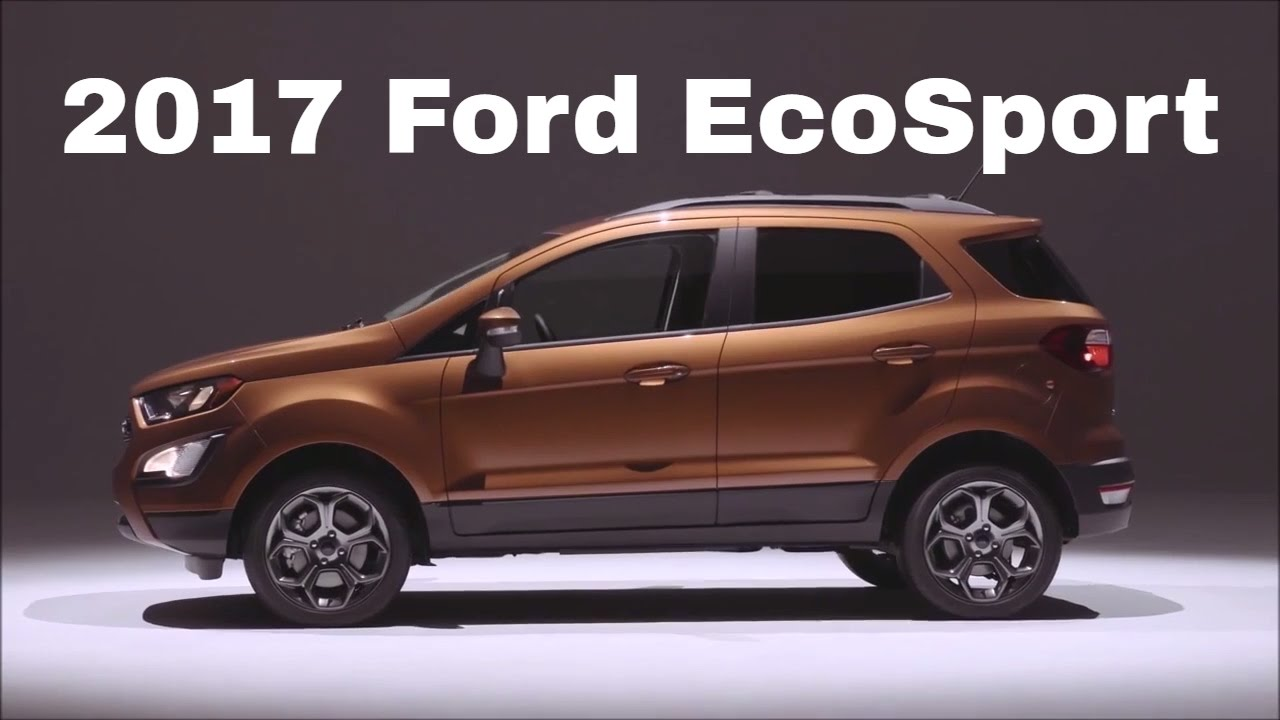 Ford EcoSport 2017 New EcoSport2017 Unboxes In India Check