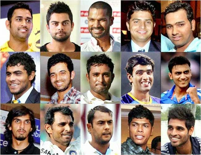 world cup 2015 Indian team