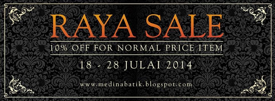 HARI RAYA SALE PROMOTION