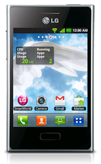LG E400 Optimus: Good Android Gingerbread Phone at Low-end Market