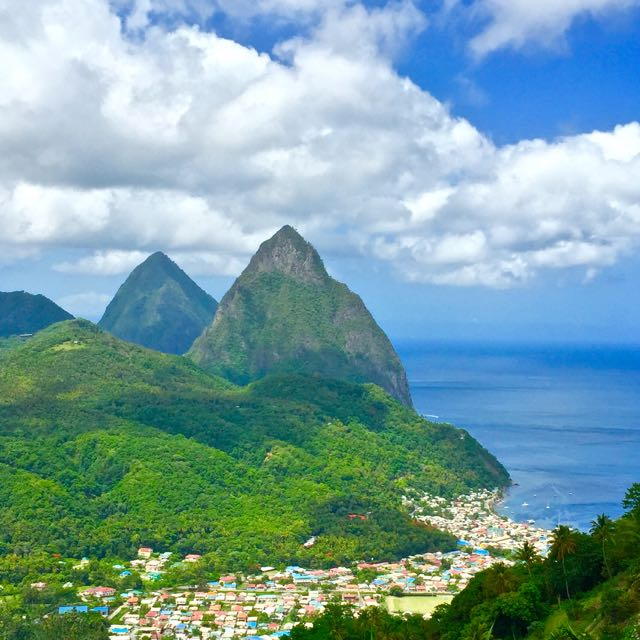 Pitons St. Lucia Caribbean