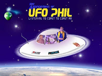 UFO Phil concierto bienvenida extraterrestres 2012