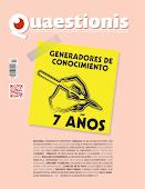 Número más reciente de la Revista Quaestionis ¡séptimo aniversario!