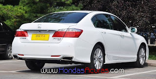 Honda and Acura Fans: Chinese Honda Accord showing new Grill - revised