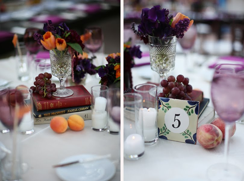 centerpiece wedding books