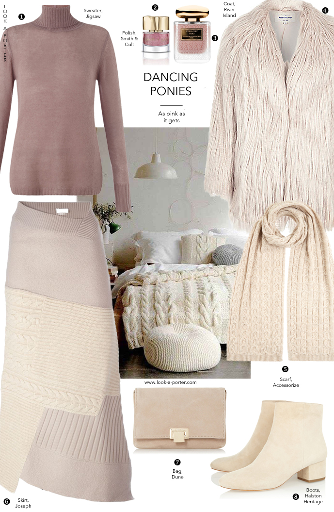 How to style knitwear & fur via www.look-a-porter.com style & fashion blog