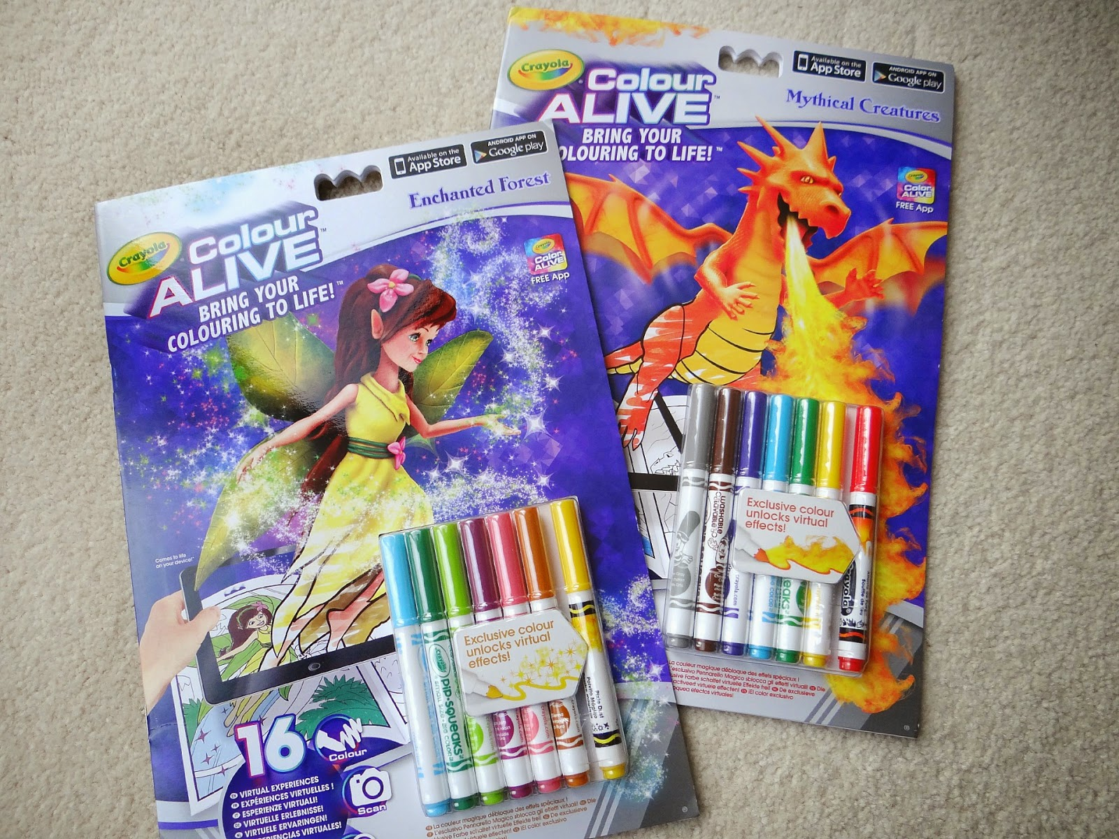 Crayola combines Colouring and Augmented Reality in Color Alive ...