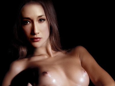 Maggie Q sexy nude in hot photo shoot