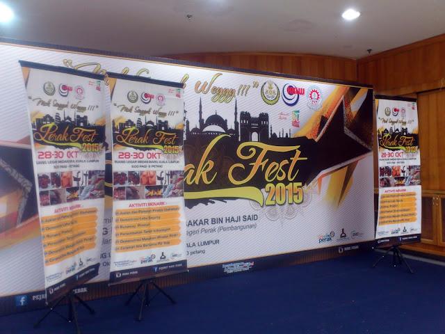 Perak Fest 2015 di Medan Mara