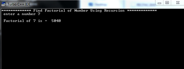 Iterative Program to Find Factorial of a Number