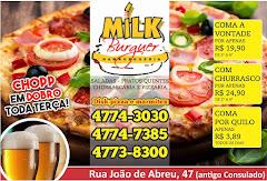 Milk Burguer Itapevi