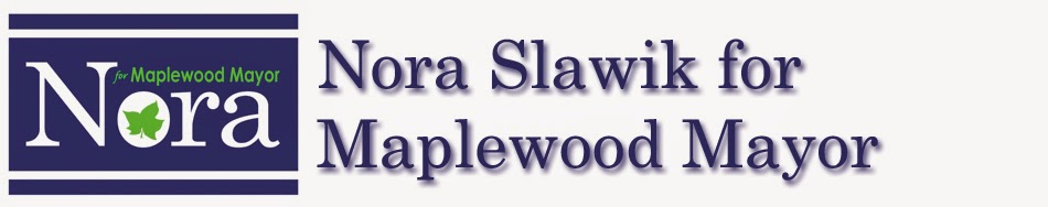 Nora Slawik for Maplewood Mayor