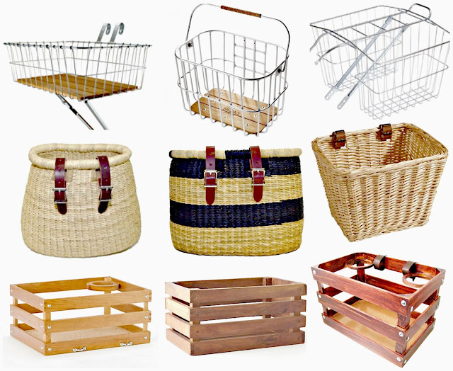 Cute Bicycle Baskets