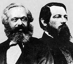 Algunos libros de Marx y Engels