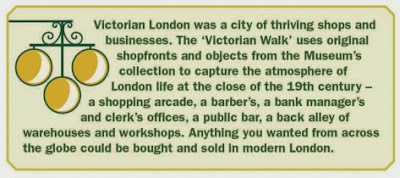 Museum of London - Victorian Times