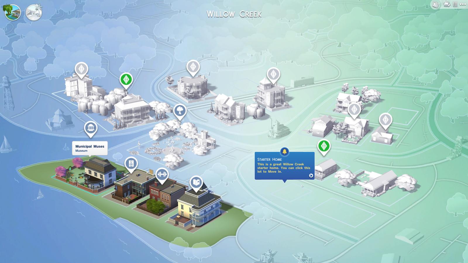 Mapa de Barrio, Edificios Decorativos y Los Mundos de Los Sims 4 14655994499_507665c648_o