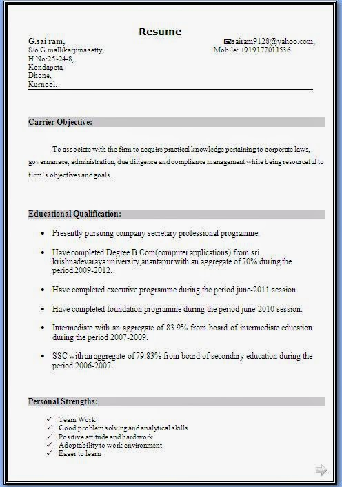 free resume templates windows xp
