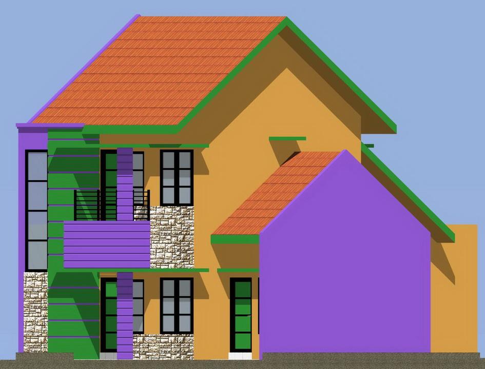 Inilah ide Desain Rumah Minimalis Type 22 2015 yg perfect