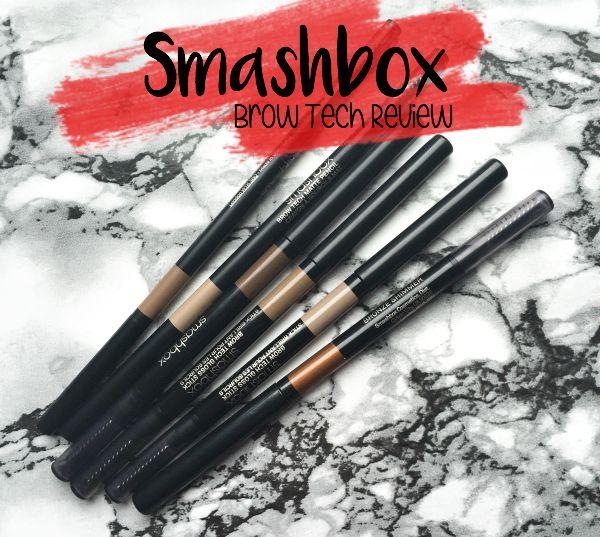 Smashbox Brow Tech Review (matte,gloss & shimmer)