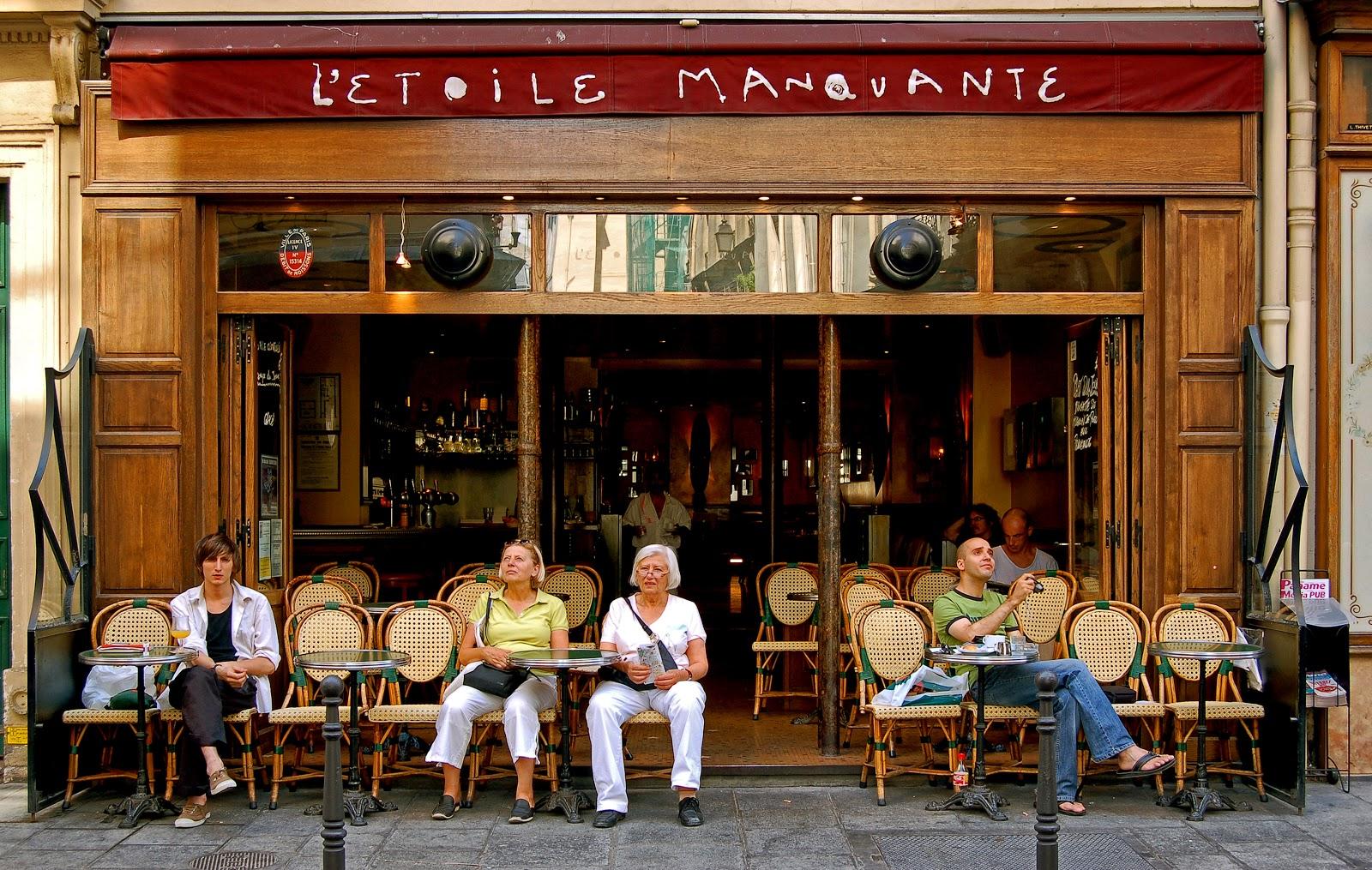 Cafe Au Lait In Paris