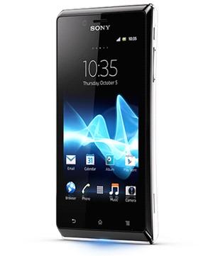 Sony Xperia J Blanco