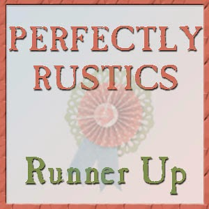 Runner Up at Perfectly Rustics