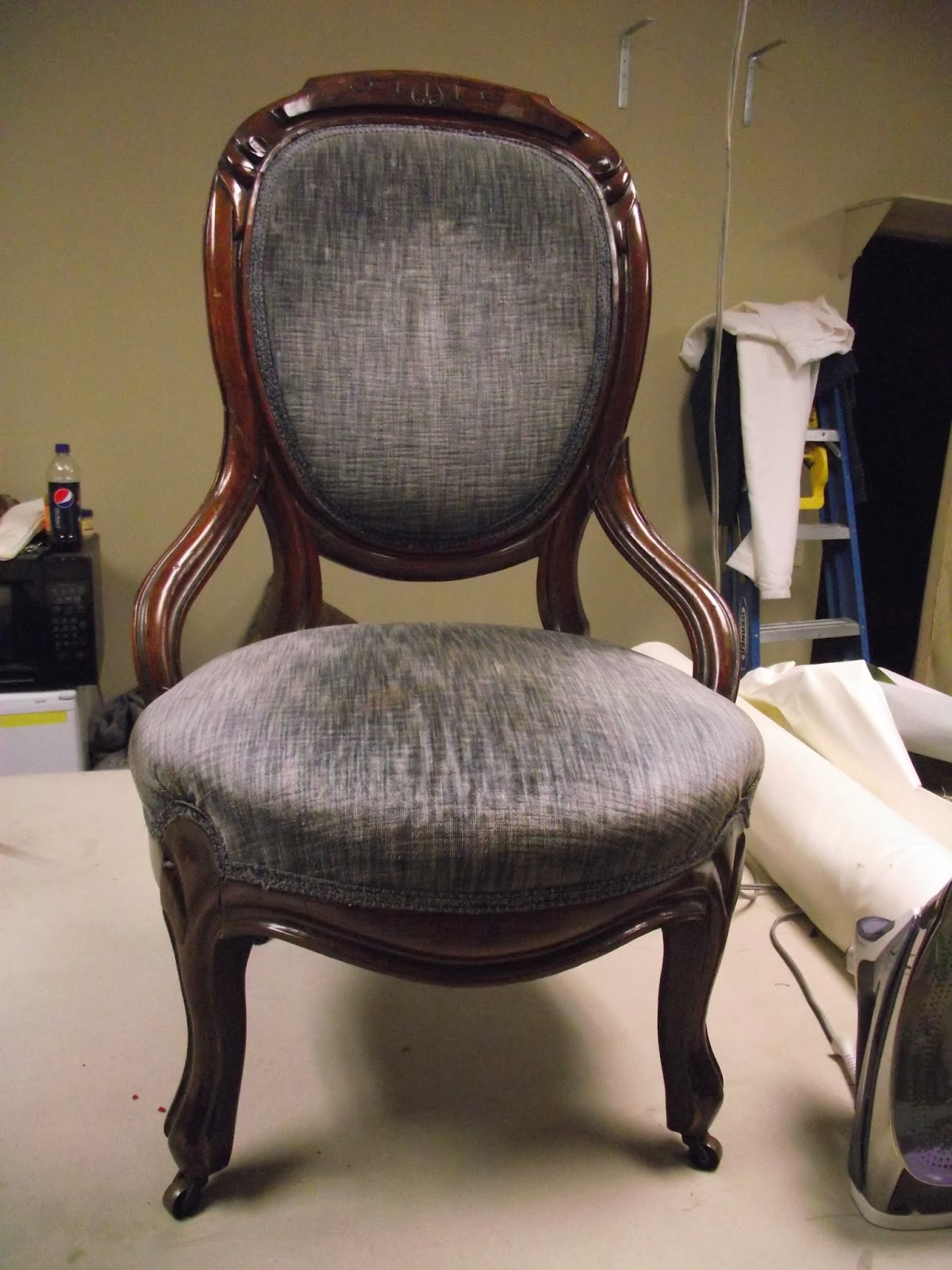 Re Gluing and Recovering a Victorian Chair