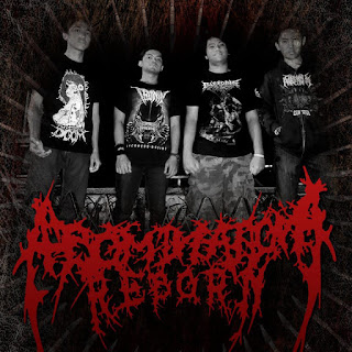 Abomination Reborn Band Death Metal Bandung Foto Logo Font Artwork Wallpaper