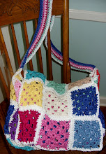 Granny Square Messenger Bag
