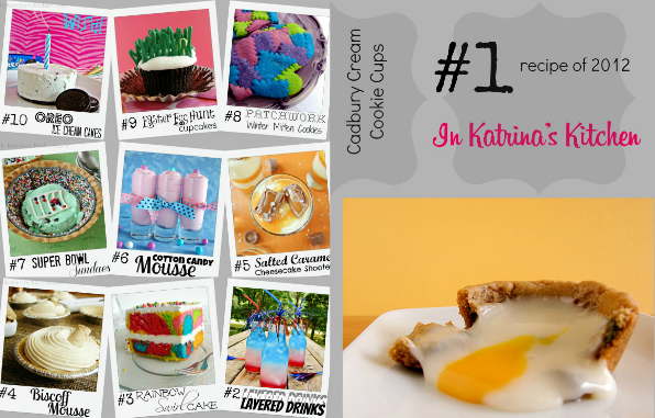 Top 10 #Recipes of 2012 inkatrinaskitchen.com @katrinaskitchen