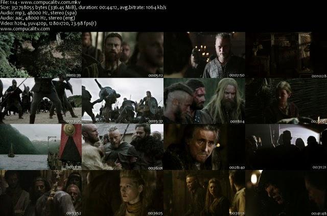 Vikings Temporada 1 Completa Español Latino