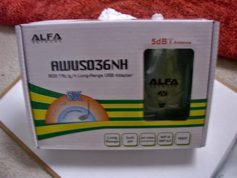 Alfa AWUS036NH 2000 mW Usb Adapter