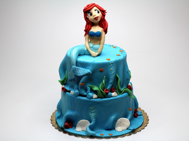 Ariel, The Little Mermaid Cake, London
