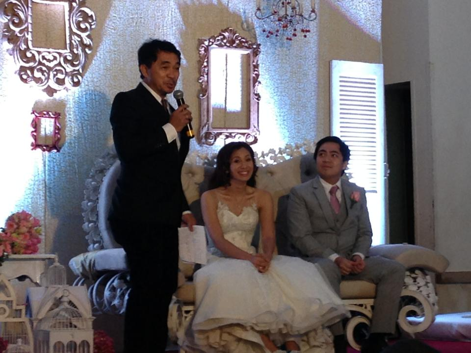 Fun filipino wedding