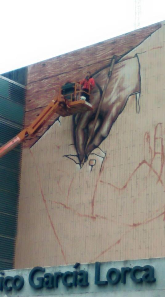 Realizacion de  Graffitis  de grandes dimensiones