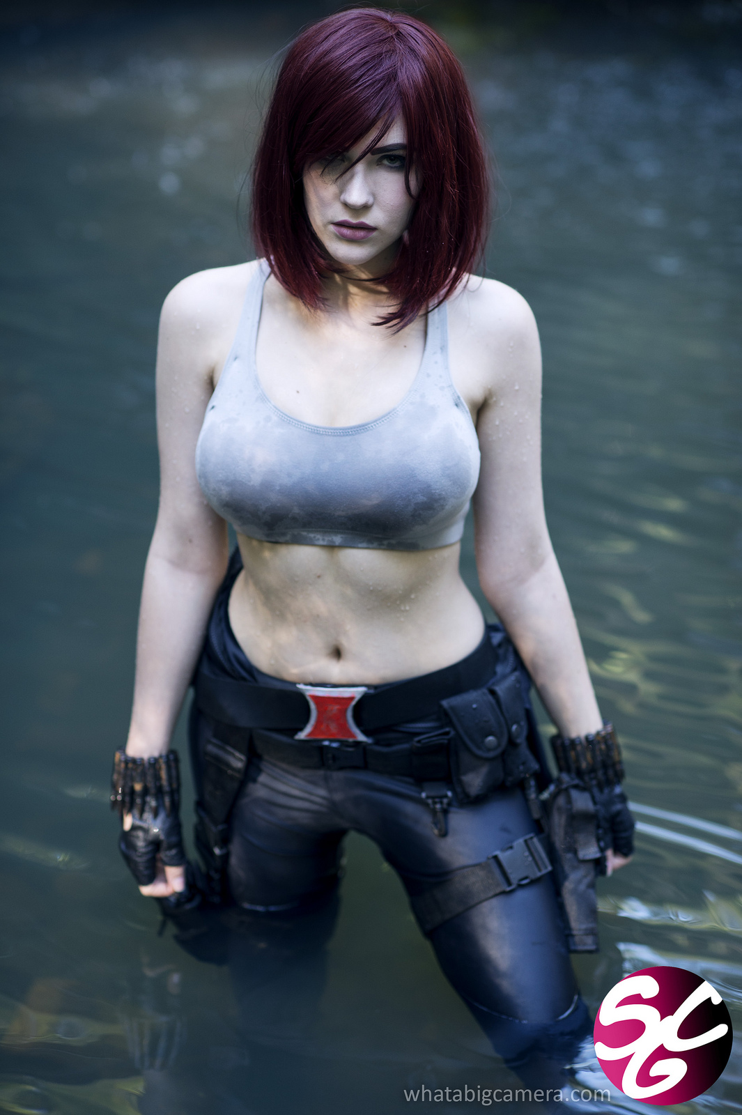 Black widow hot naked cosplay sexy gallery
