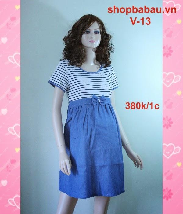 Váy bầu giá rẻ V-13
