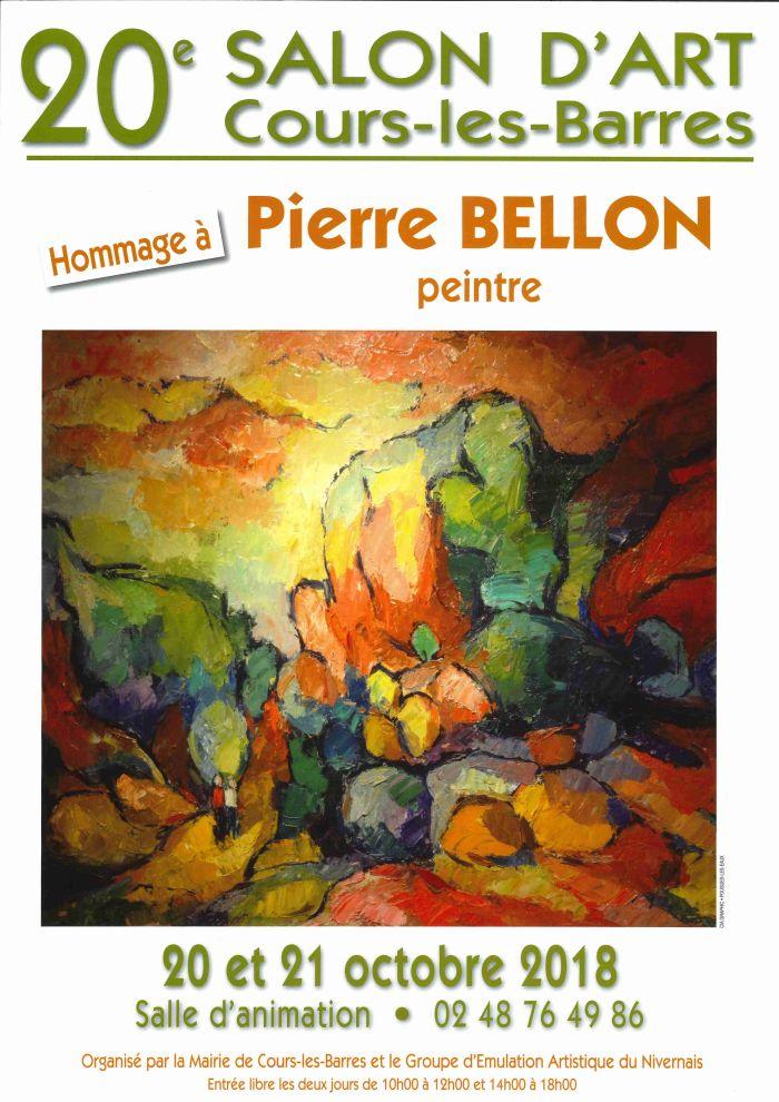 Salon d'art le 20 et 21 octobre à Cours-les-Barre