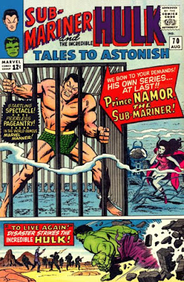 Tales To Astonish #70, Hulk and Sub-Mariner