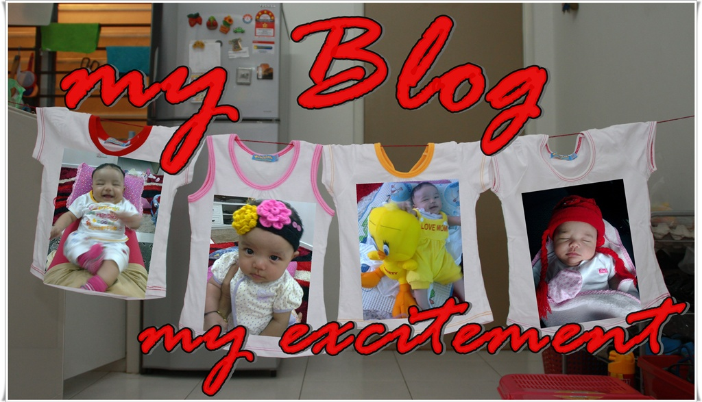 my blog..my excitement