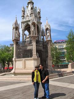 Geneva Switzerland Square des Alpes
