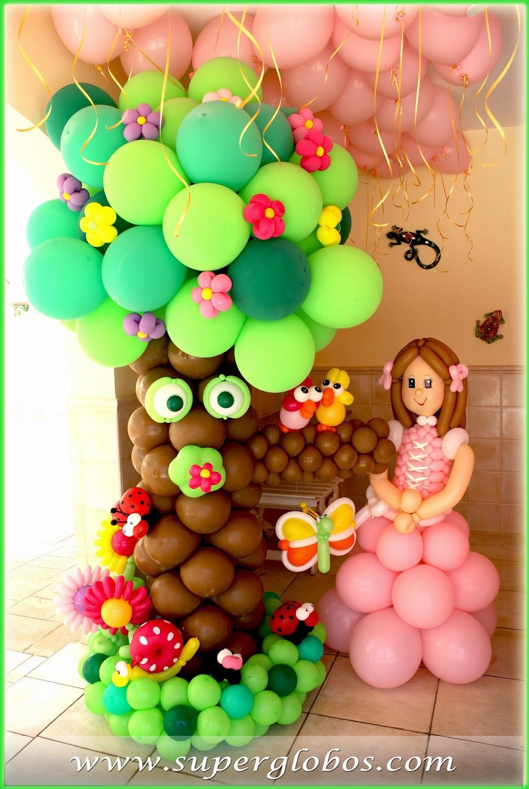 Decoraci n con globos para eventos y fiestas superglobos for Cosas de decoracion