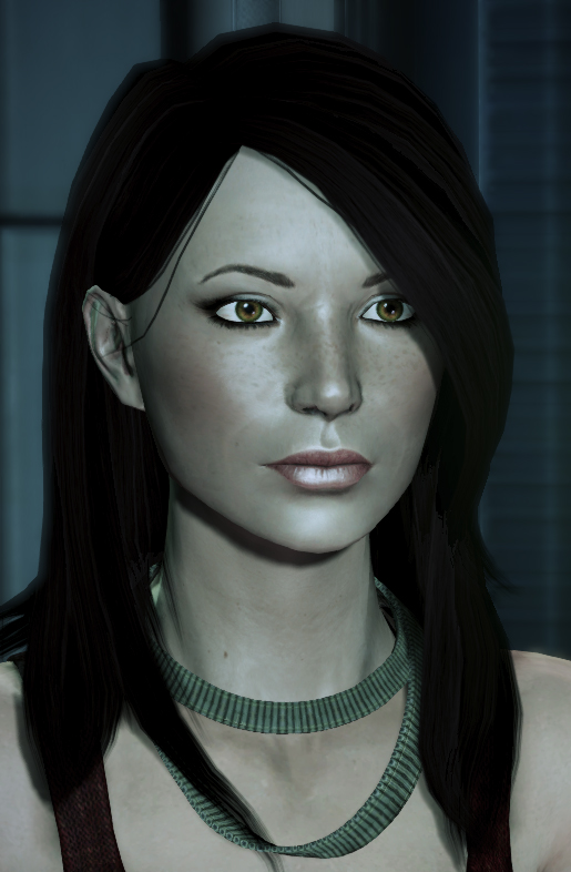 how to get face code from mass effect 1 pc