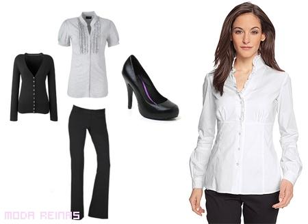 Modelos de uniforme para oficina de mujer imagui for Trajes para oficina