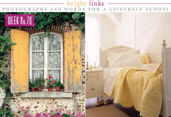 Decora con toques de amarillo decorar tu casa es - Colcha blanca ikea ...