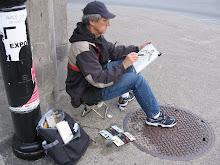 L'artiste en ville