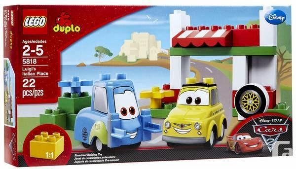 For Kids Worldwide: Luigi's Italian Place Sets - Lego Duplo