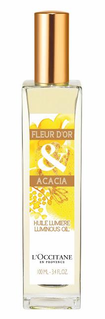 Huile lumière Fleur d'or & Acacia
